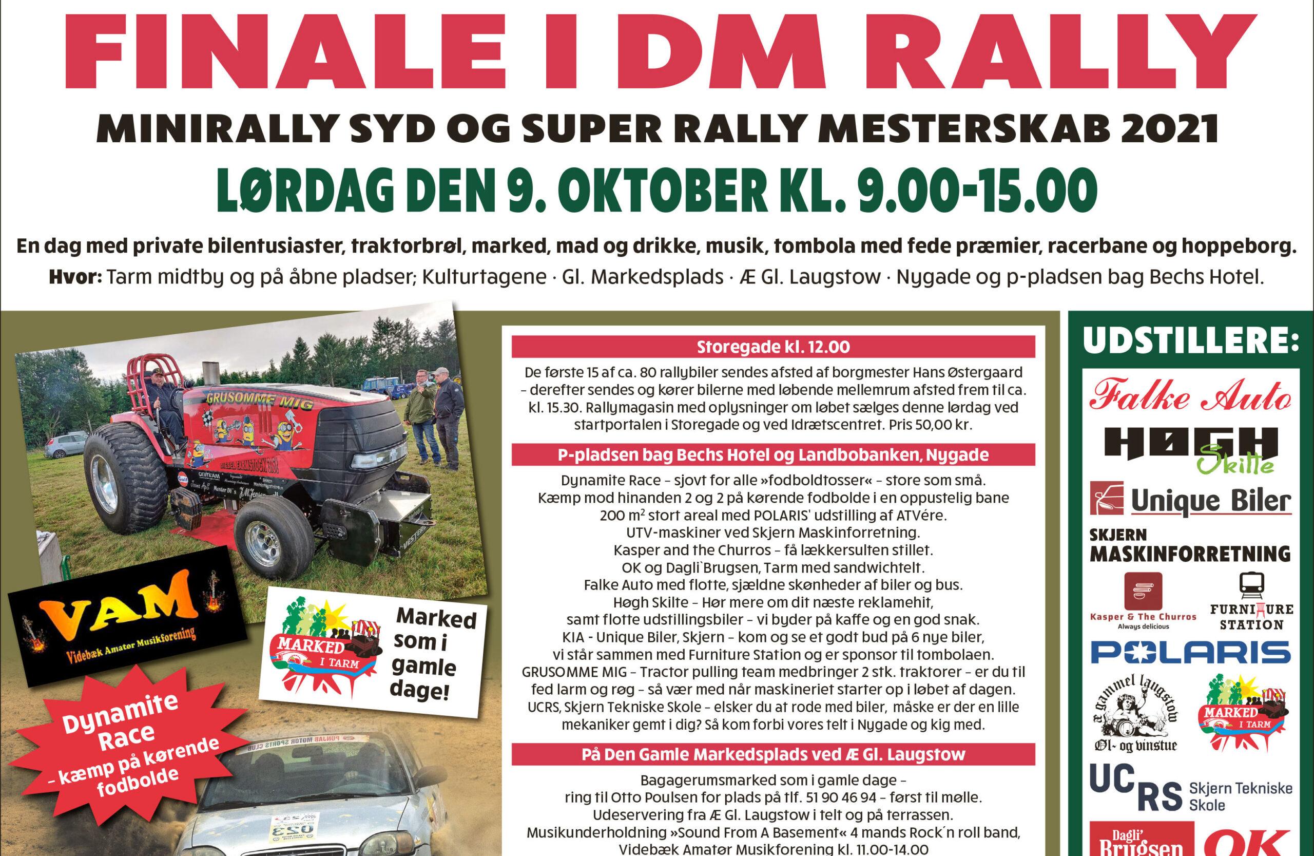 DM Rally og marked